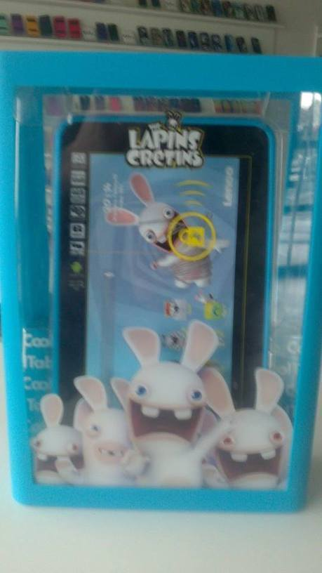 Tablette tactile Lapins Crétins en promotion - Tactil Center | Accessoires GSM Mobile Smartphone Tablettes | Scoop.it