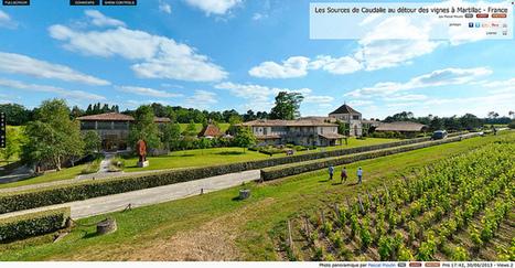 Visite virtuelle - Les Sources de Caudalie au détour des vignes à Martillac  -  France par Pascal Moulin | moulin360panoramic | Scoop.it