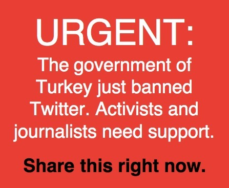 Fascism in Turkey:  Support Turkish Tweeps as Erdogan bans twitter! | Human Rights and the Will to be free | Scoop.it
