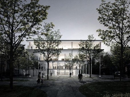 Between Books & Trees: A unique, ecological design for a new public library | sustainable architecture | Scoop.it