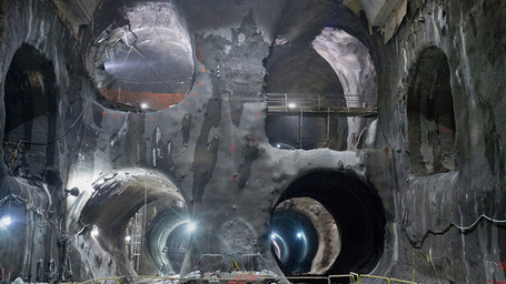 Incredible Images of the Massive New Tunnels Hollowing New York City | pixels and pictures | Scoop.it