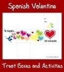 Spanish Valentine Treat Boxes | Preschool Spanish | Scoop.it