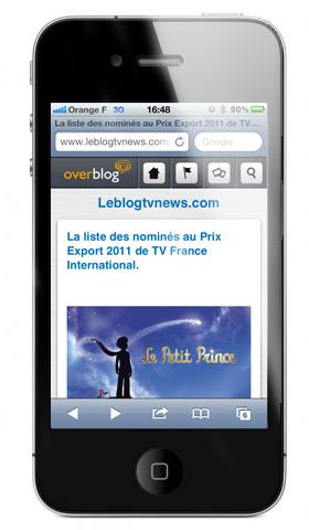 Une nouvelle interface mobile pour OverBlog | Toulouse networks | Scoop.it