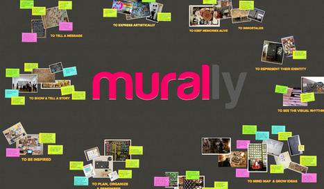 Mural.ly: Tus lluvias de ideas en un mural digital | Las TIC en el aula de ELE | Scoop.it