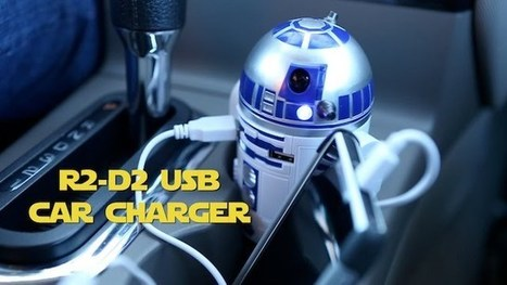 R2-D2 Car Charger Is The Droid You've Been Looking For To Charge USB ... - Ubergizmo | Robotics | Scoop.it