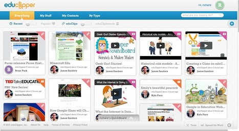 Free Technology for Teachers: eduClipper Is What Teachers Want Pinterest To Be | iPad na sala de aula | Scoop.it