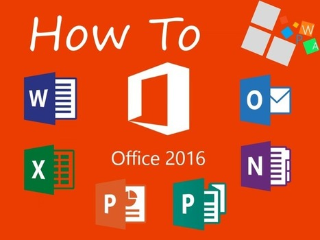 HowTo Office 2016 #1 : la fonction Tell Me | BM Formation | Scoop.it