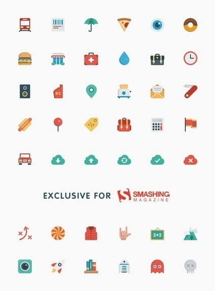 Smallicons - Free Icons Set | Design | Scoop.it