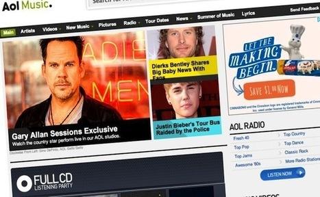 AOL met un terme à l'activité de sa plateforme musicale | Wiseband | Scoop.it