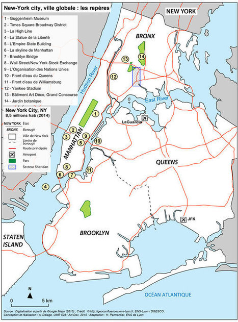Le Bronx, des flammes aux fleurs : combattre les inégalités socio-spatiales et environnementales au cœur de la ville globale ? — Géoconfluences | Ressources en Géographie | Scoop.it