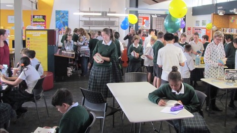 Modern Library Learning Environments in Christchurch schools | School libraries and learning | Scoop.it