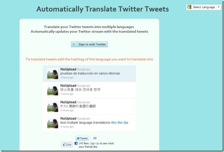 Post Tweets In Multiple Languages With Automatically Translate Twitter Tweets | formation 2.0 | Scoop.it