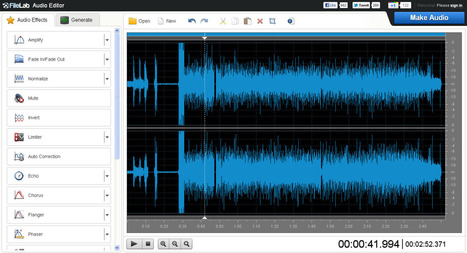 Editor de audio online para modificar tu música desde el navegador: FileLab | EDUDIARI 2.0 DE jluisbloc | Scoop.it