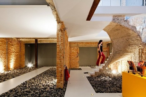 Casa REX Office Is Designed to Highlight the Process of Demolition | Architecture and Interior Design | Scoop.it