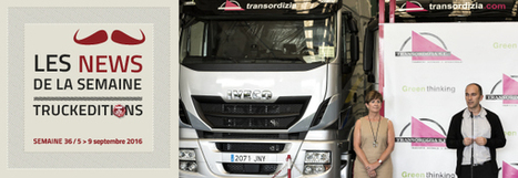 Iveco traverse l'Europe - truck Editions | Truckeditions | Scoop.it
