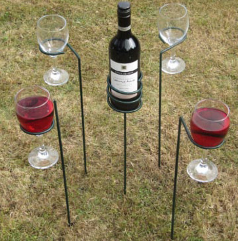 Drinks Holders & Wine Sticks - Mix & Match Offer - Drinks Holders | Garden Furniture | Scoop.it