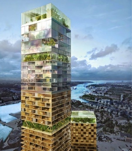 Zaha Hadid and SOM Among 5 Competing to Design Scandinavia's Tallest Tower | The Architecture of the City | Scoop.it