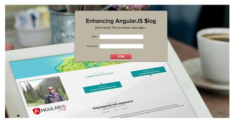 Enhancing AngularJS $log using Decorators | AngularJS | Scoop.it