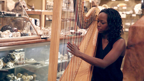 Brandee Younger: Taxidermy, Two-Headed Skeletons And Jazz Harp - NPR | jazz | Scoop.it