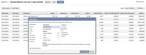 Facebook Studio: Updates to Ads Manager Reports | Facebook Sculpting | Scoop.it