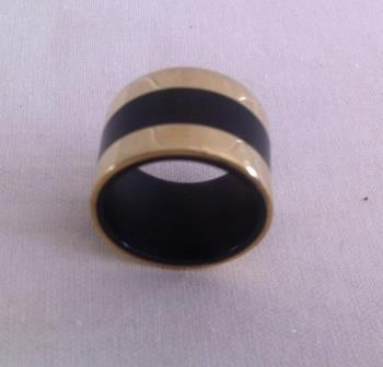 fair trade Cambodia, Recycled bomb shell natural horn ring, ethically handcrafted by disadvantaged home based producers group   Recycled Bomb Casings & Bullet Shell Jewellery   Scoop.it