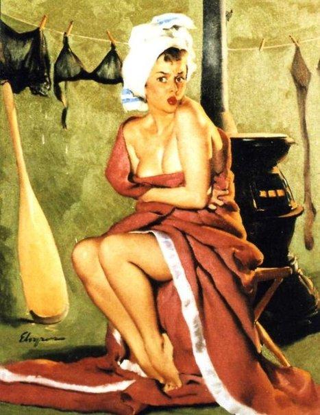 The Vintage Pin Up Girls of Gil Elvgren Gallery18 | Rockabilly | Scoop.it