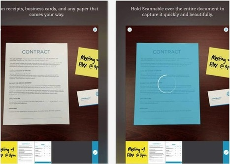 Scannable- A New Powerful App from Evernote ~ Educational Technology and Mobile Learning | EdTech Integration | Scoop.it