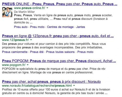 "Comment Google monopolise les SERPs | ""Buzz or die"", ""Don't be evil"" and other epic stories from the web 