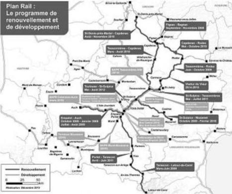 Le Plan Rail à son apogée avec la ligne Toulouse-Saint-Sulpice | Habiter-Toulouse.fr | Scoop.it