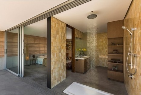 A Desert House Stays Cool With Rammed Earth | EarthTechling | Sustainable Communities | Scoop.it