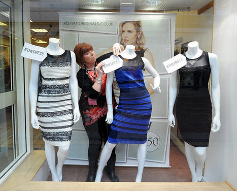 The White and Gold (No, Blue and Black!) Dress That Melted the Internet | Back Chat | Scoop.it