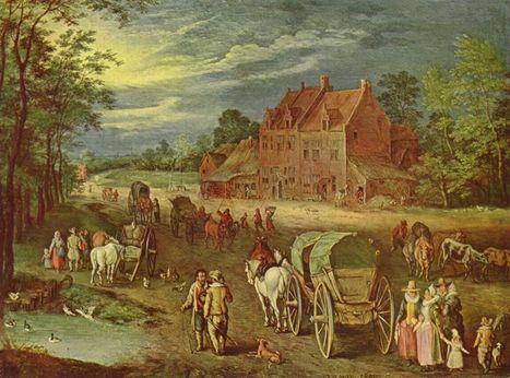 Vervoer in de Middeleeuwen: over land | Kunst en Cultuur: Geschiedenis | Leven in de Middeleeuwen | Scoop.it