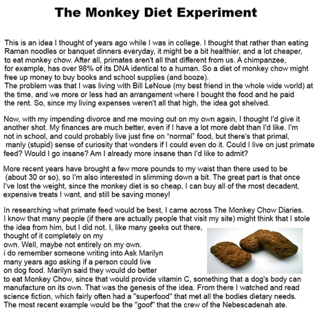 diet monkey - Know It ~ Zin Health Health And Weight Loss | diet monkey | Scoop.it