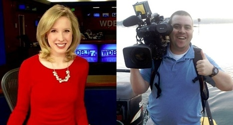 Alison Parker and Adam Ward: A 'rockstar' journalist and a gregarious cameraman #NRA #USfascism | USA the second nazi empire | Scoop.it