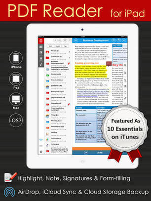 Kdan Mobile's PDF Reader And PDF Connoisseur Apps Updated For iOS 7 | iOS code pdf | Scoop.it