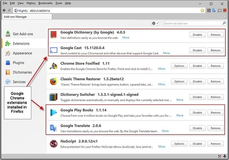 How to install Google Chrome extensions in Firefox - gHacks Tech News | Freewares | Scoop.it