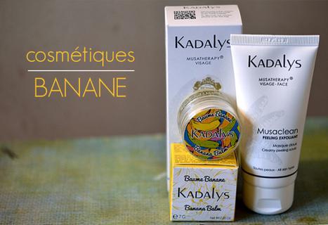 2 nouveaux soins à la banane anti-âge et nourrisants | Tests cosmétiques | Scoop.it