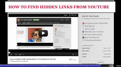 How to Get Backlinks From YouTube that Most People Miss Out On | Mobile Websites vs Mobile Apps | Scoop.it