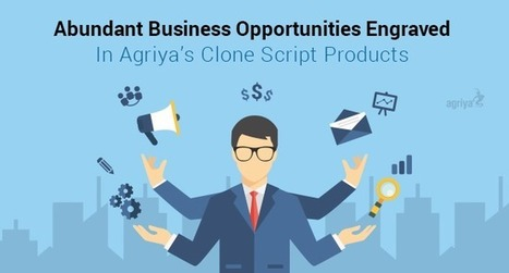 A neat rundown of Agriya's readily available products with par excellence of business opportunities   Technology and Marketing   Scoop.it