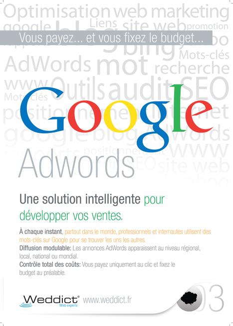 Google AdWords : création et gestion des campagnes - Weddict : agence web & référencement | Noiesis Coworking Sophia-Antipolis | Scoop.it