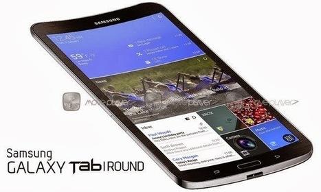 Samsung GALAXY Tab Round: Coming soon a curved tablet?   Geeks-corner   Scoop.it