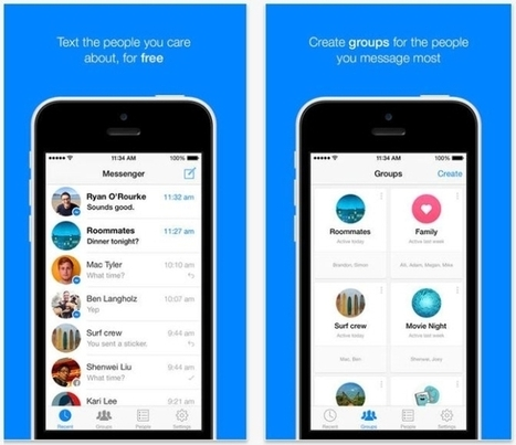 Facebook Messenger For IOS Adds Groups, Message Forwarding - AllFacebook | Digital-News on Scoop.it today | Scoop.it