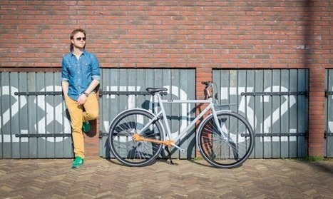 BRIK's chain-free city bike | Creative Feeds | Scoop.it
