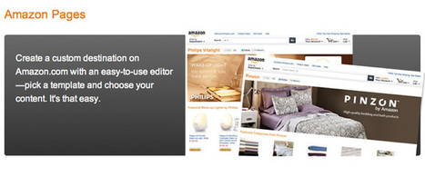 Amazon Pages – No Nonsense Social Commerce for 2013? [User Guide] | Social Media and your Brand | Scoop.it