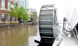 How a Solar-Powered Water Wheel Can Clean 50,000 Pounds of Trash Per Day From Baltimore's Inner Harbor | EcoWatch | Scoop.it