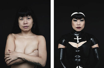 Before and After Portraits of New York City Burlesque Performers | Digital-News on Scoop.it today | Scoop.it