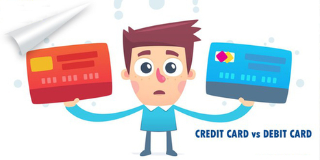 Difference Between Debit Cards and Credit Cards   Malaysia Finance   Scoop.it