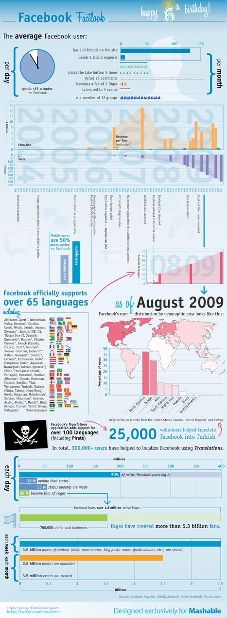 Las 10 mejores infografías de las redes sociales « TUAPLI | Bibliotecas universitarias | Scoop.it