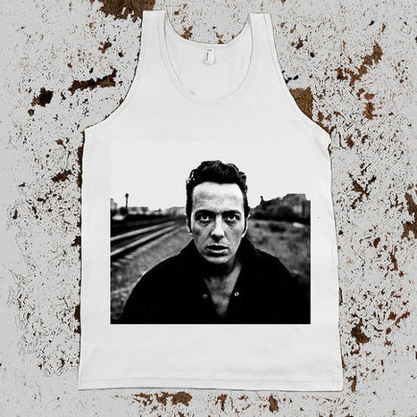 The Clash abandoned railroad Tank Top Unisex JOE STRUMMER | Binary Options | Scoop.it