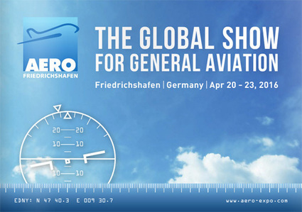AERO Friedrichshafen 2016 - Agenda aéronautique - AeroWeb-fr.net | Allemagne Commerce et Industrie | Scoop.it